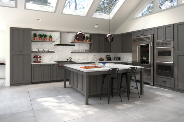 Midtown Grey Cabinets