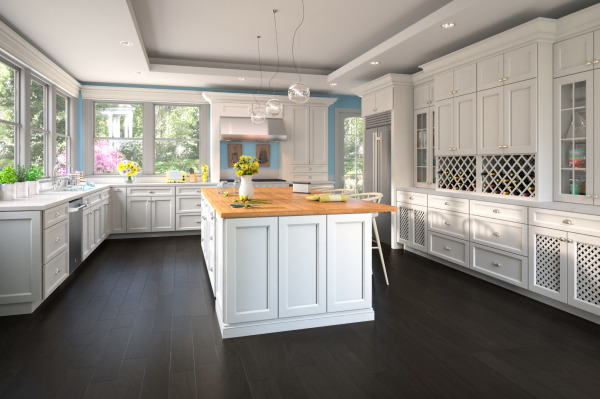 Uptown White Cabinets